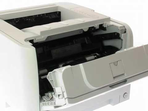 HP LaserJet P2035 Printer.flv