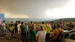 (SPAIN, June 2019) 'Out of control' wildfire rages in Spain's Catalonia region