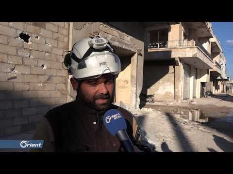 قتلى وجرحى في قصف لميليشيا أسد الطائفية على مدينة خان شيخون بإدلب - سوريا
