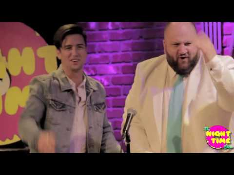 The Night Time  with guest @1loganhenderson @stephenglickman @fireballwhisky