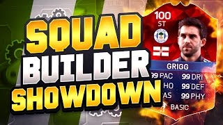 One of REEV's most viewed videos: WILL GRIGG SQUAD BUILDER SHOWDOWN!! - BEST FIFA 16 SQUAD BUILDER SHOWDOWN IN HISTORY!!