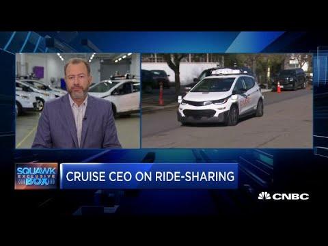 GM Cruise CEO Dan Ammann On Its Autonomous Rideshare Project