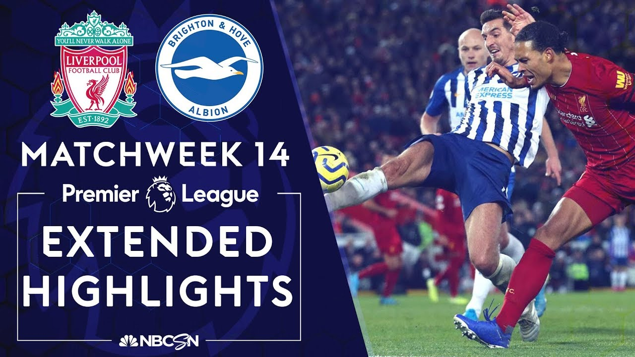Liverpool v. Brighton | PREMIER LEAGUE HIGHLIGHTS | 11/30/19 | NBC Sports