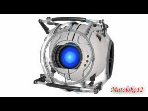Wheatley's voice changed to sound like GLaDOS