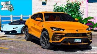 Реальная Жизнь В Gta 5 - Выбираю Себе Б/У Lamborghini Urus! Чуть Не Купил Автохлам! 🌊Вотер
