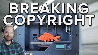 Will 3D Printing Break Copyright? | Idea Channel | PBS Digital Studios