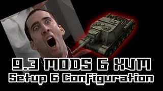 9.3 Mods & XVM - Setup & Configuration || World of Tanks