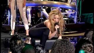Shakira - Loba - En Directo TVE (LA 2) Especial Shakira (HQ)