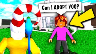 This Mom ADOPTED ME..BUT She Had A Scary SECRET.. (Roblox)