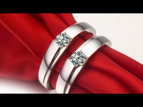 PURE SILVER COUPLE RINGS