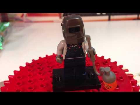 Lego 71002 Series 11 Minifigure #10 Welder Bump or Dot code