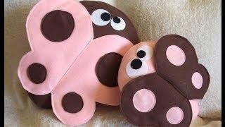 Декоративные подушки игрушки - забавные, симпатичные и креативные