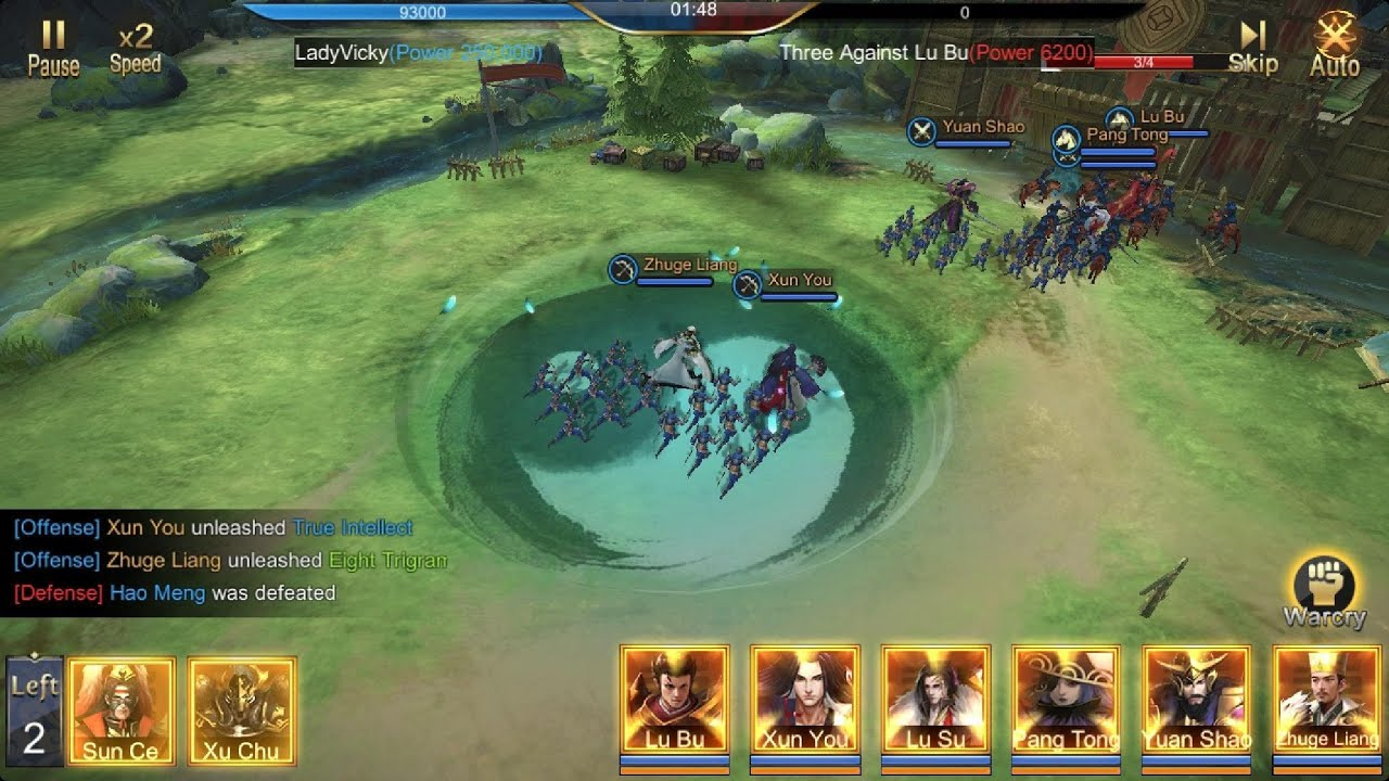 [Trải nghiệm] Three Kingdoms Domination – Game mobile chiến thuật đề tài Tam Quốc quen thuộc