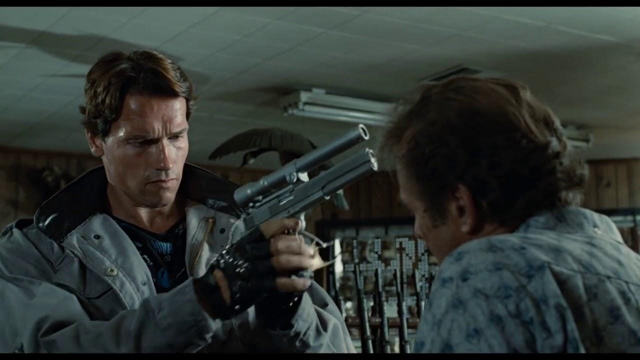 The Terminator 1984   Gun Shop Scene HD Clip 5 23