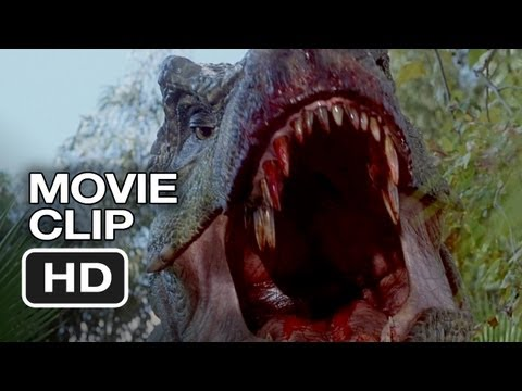 Thumbnail: Jurassic Park 3 (3/10) Movie CLIP - Spinosaurus vs. T-Rex (2001) HD