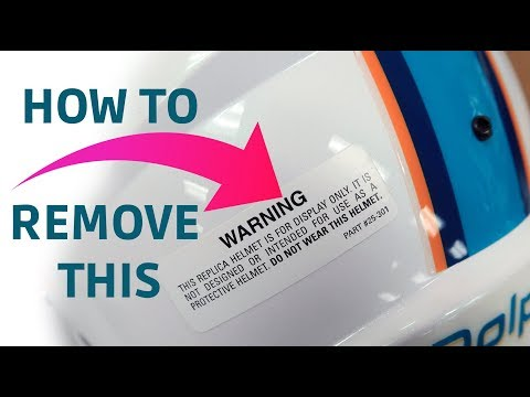 How To Remove Decals
