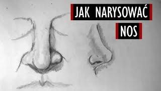 Jak Narysować Nos? - Poradnik Rysowania #14 [Kocham Rysować]