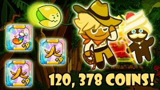 LINE Cookie Run - S8 Coin Farming with Adventurer Cookie