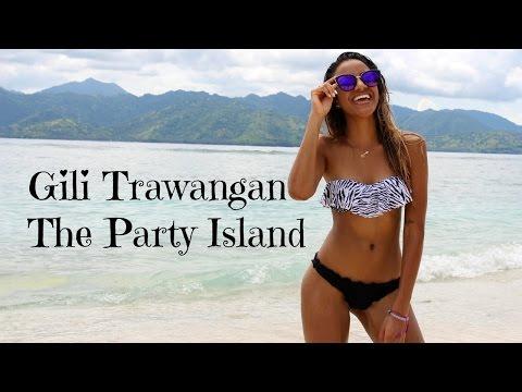 Gili Trawangan Travel Vlog    Gili T    Bali    Party Island