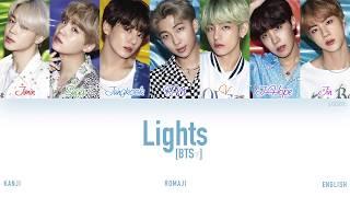 Download [KAN|ROM|ENG] BTS (방탄소년단) - Lights (Color Coded Lyrics)