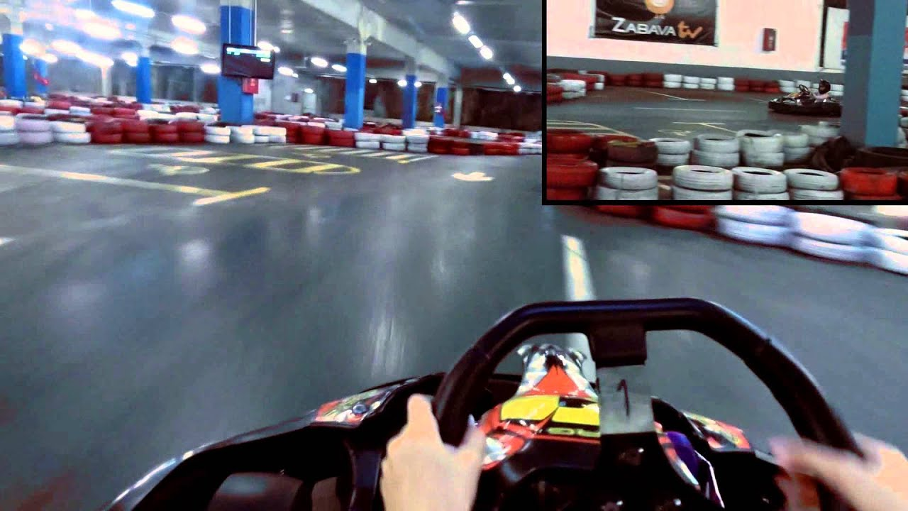 kart for garmin Manuela (11) Indoor Go Kart Racing Garmin VIRB   YouTube kart for garmin