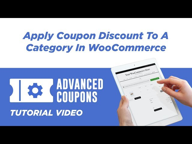 Apply Coupon Discount To A Category In WooCommerce