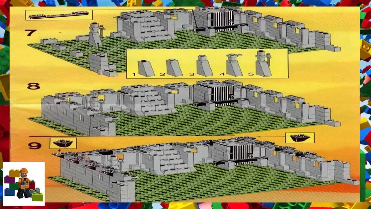Lego Instructions Castle Lion Knights 6080 Kings Castle