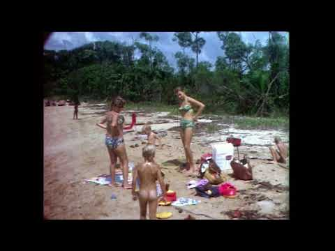 Picnic at a beach Liberia 1972 74