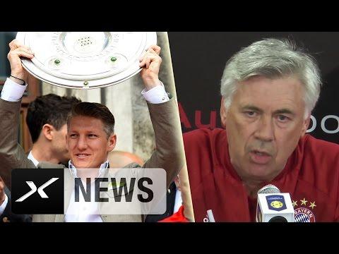 Rückkehr von Bastian Schweinsteiger zum FC Bayern München? Das sagt Carlo Ancelotti
