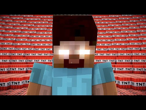 500,000 TNT VS HEROBRINE | Minecraft