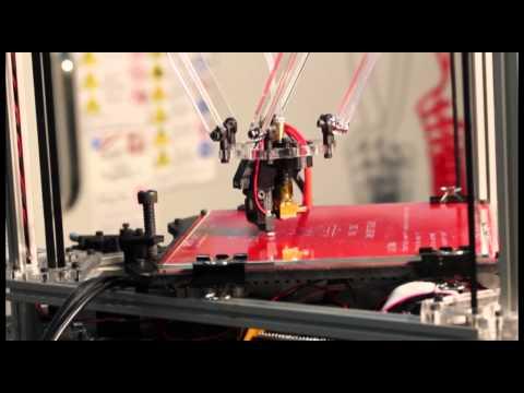 0 - Kossel Clear Delta 3D Printer auf Kickstarter