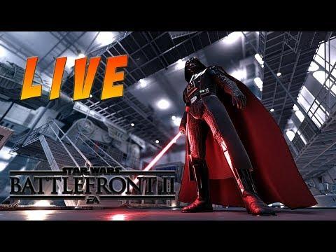 Star Wars Battlefront 2 Live Stream  Hero Challenges
