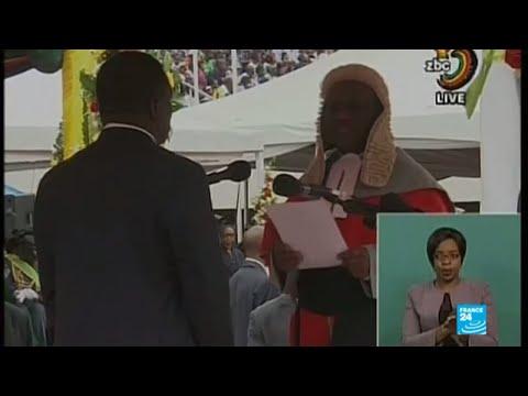 Zimbabwe: Emmerson Mnangagwa swearing-in as president