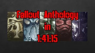 Fallout Anthology Speedrun in 1:41:15 (World Record)
