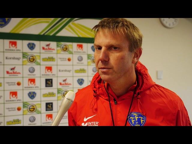 Intervju med Hasse Eklund inför Falkenbergs FF - Norrby IF, Superettan 2017