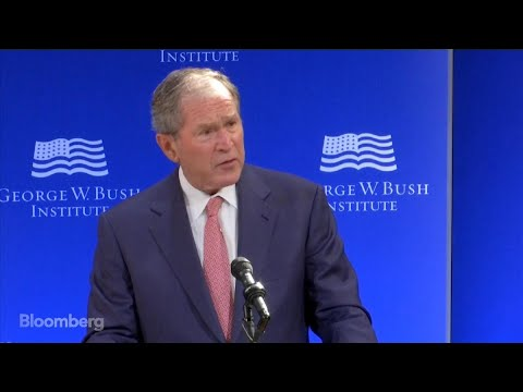 George W. Bush Launches Veiled Rebuke of Trump