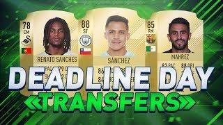 DE MEEST ONGELOFELIJKE TRANSFER DEADLINE DAY TRANSFERS! | FIFA 18 NEDERLANDS