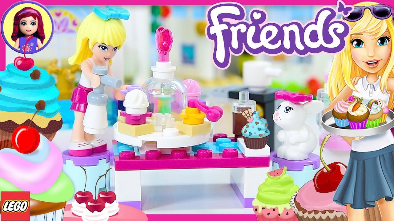 Stephanie S Friendship Cakes Lego Friends Build Review