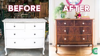 How To Strip Paint From Wooden Furniture Youtube