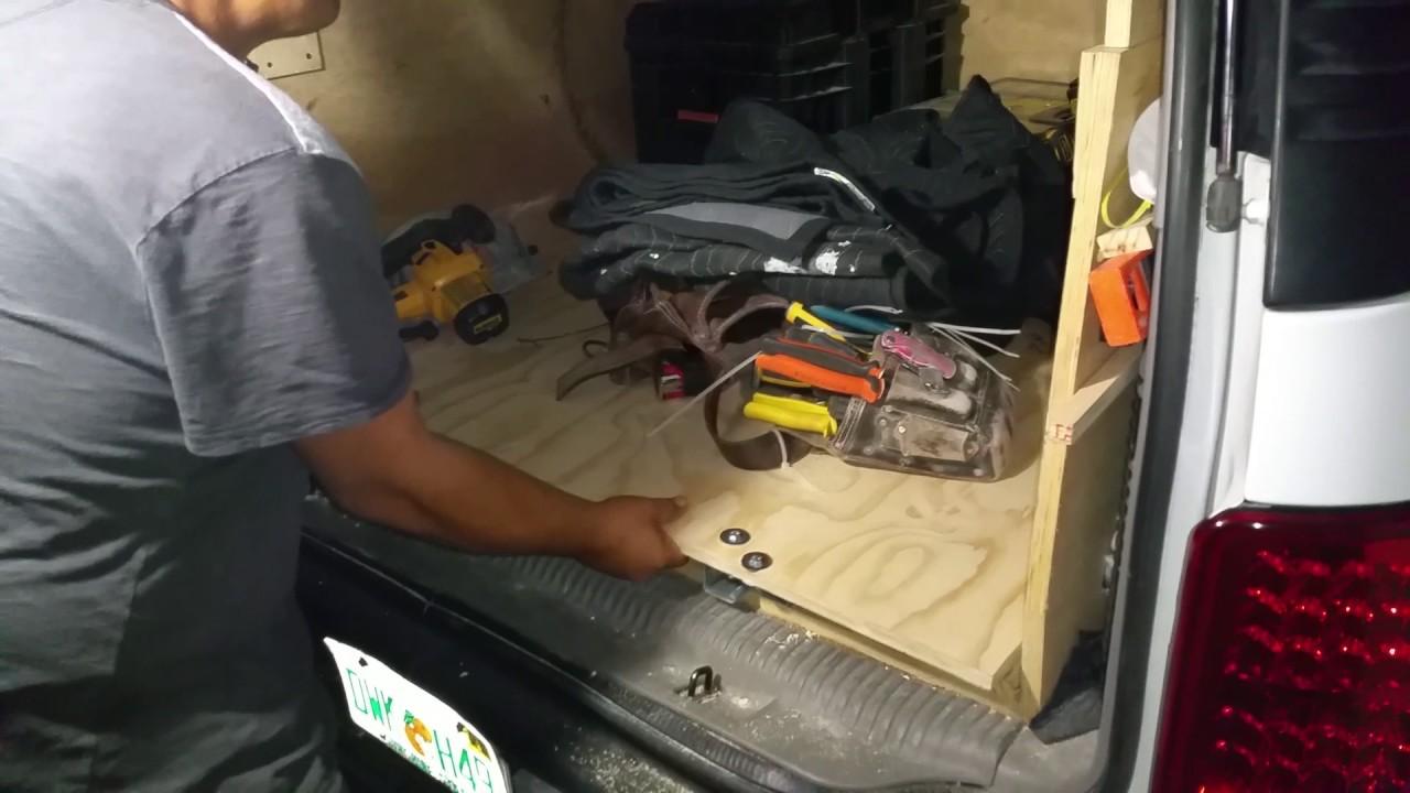 Homemade Truck Bed Slide Under 100 Youtube