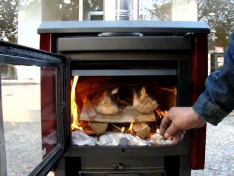 Funcionamiento calefactor a le a youtube - Estufas de lena leroy merlin precios ...