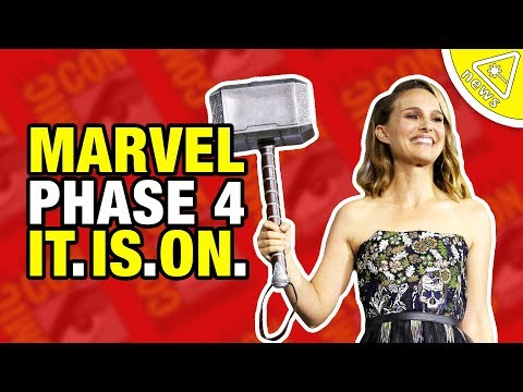 Kevin Feige Reveals Marvel's Phase 4… And. IT. IS. ON! (Nerdist News W/ Amy Vorpahl)