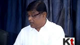 Manik Bhattacharya is addressing press on primary education TET exam