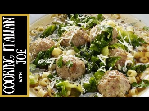 How to Make World's Best Italian Wedding Soup Cooking Italian with Joe