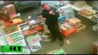 Exclusive footage: Police raid organic food stores