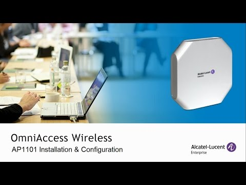 OmniAccess AP1101 Installation and Configuration [R2.1.0.78]