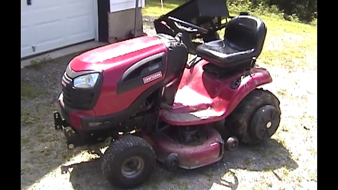 Craftsman 48 Inch Belt Diagram Craftsman Yt3000 Riding Mower Review 100 Hours Later