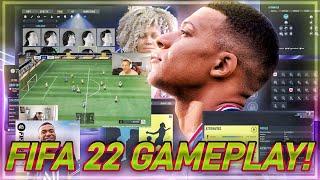 WIR SPIELEN FIFA 22 zum ERSTEN MAL 😱🔥 FIFA 22 Gameplay