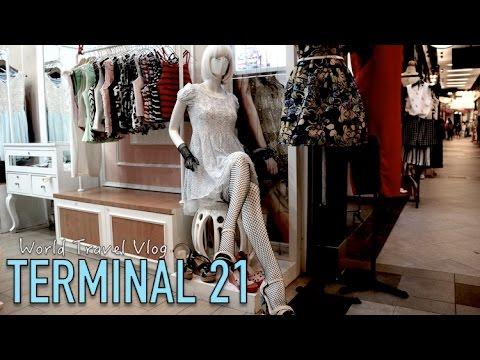 Amazing Bangkok Shopping - Terminal 21 | World Travel Vlog