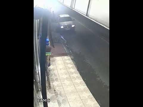 Vídeo mostra assassino momentos antes de executar vítima no bairro Alvorada, em Manaus